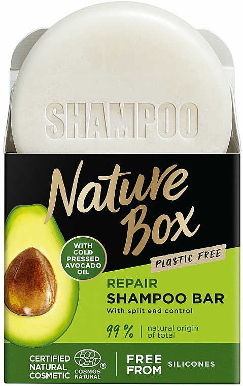 Shampoo solido - Nature Box Avocado Dry Shampoo