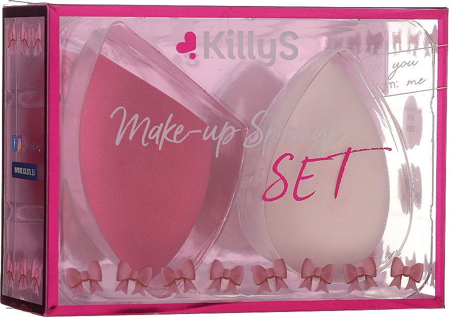Set spugne, 2 pz - KillyS