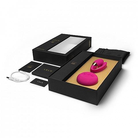 Massaggiatore vibrante per coppie, rosa - Lelo Tiani 24k Hot Cerise — foto N2