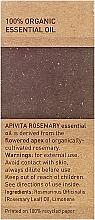"Olio essenziale ""Rosmarino"" - Apivita Aromatherapy Organic Rosemary Oil — foto N3"