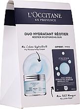 Profumi e cosmetici Set - L'Occitane Aqua Reotier (cr/50ml + mask/6ml)