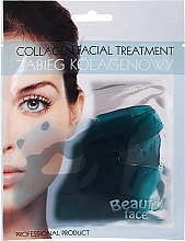 Profumi e cosmetici Trattamento viso al collagene con oligoelementi marini - Beauty Face Collagen Hydrogel Mask