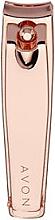 Profumi e cosmetici Tagliaunghie Clipper, oro rosa - Avon Rose Gold Nail Clippers