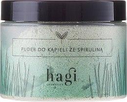 Profumi e cosmetici Polvere da bagno con spirulina - Hagi Bath Puder