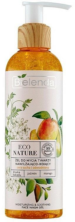 Gel detergente viso - Bielenda Eco Nature Kakadu Plum, Jasmine and Mango