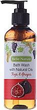 Profumi e cosmetici Gel-doccia con fichi e uva - Belle Nature Bath Wash Figs&Grapes