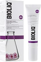 Profumi e cosmetici Crema contorno occhi e labbra levigante - Bioliq 45+ Firming And Smoothening Eye And Mouth Cream