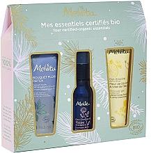 Profumi e cosmetici Set - Melvita (sh/gel/30ml + water/28ml + gei/oil/30ml)