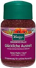 Profumi e cosmetici Sale da bagno con papavero rosso e olio di canapa - Kneipp Red Poppy & Hemp Bath Crystals Salt
