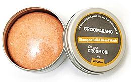 Profumi e cosmetici Shampoo barba solido - Groomarang Shampoo Ball & Beard Wash