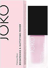 Profumi e cosmetici Primer trucco - Joko Brightening & Mattifying Primer
