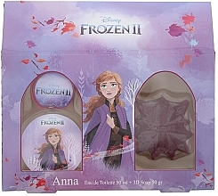 Profumi e cosmetici Disney Frozen II Anna Gift Set - Set (edt/50ml + soap/50ml)