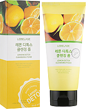 Profumi e cosmetici Schiuma detox al limone - Lebelage Lemon Detox Cleansing Foam