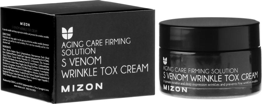 Crema con veleno di serpenti, effetto Botox - Mizon S-Venom Wrinkle Tox Cream