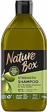 Profumi e cosmetici Shampoo con olio d'oliva per capelli lunghi - Nature Box Shampoo Olive Oil