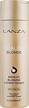 Profumi e cosmetici Balsamo curativo per capelli biondi naturali e decolorati - L'anza Healing Blonde Bright Blonde Conditioner
