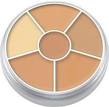 Profumi e cosmetici Palette di 6 concealer per il viso - Kryolan Concealer Circle