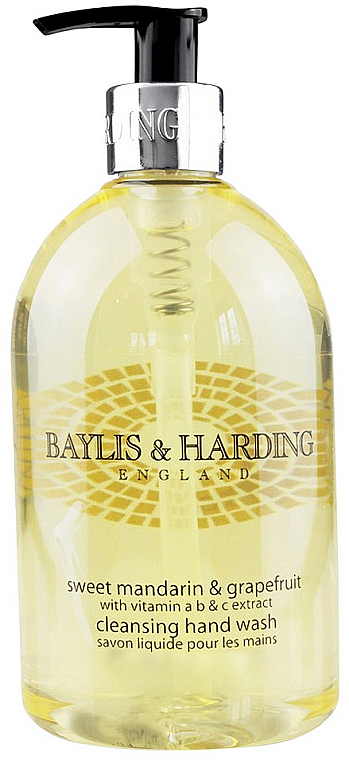 Sapone liquido per le mani - Baylis & Harding Sweet Mandarin & Grapefruit Hand Wash