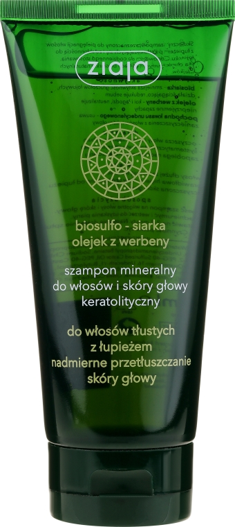 Shampoo minerale cheratolitico - Ziaja Shampoo