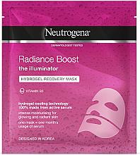 Profumi e cosmetici Maschera viso in idrogel rivitalizzante - Neutrogena Hydro Boost Radiance Boost Hydrogel Recovery Mask