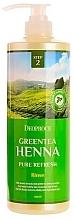 Profumi e cosmetici Balsamo capelli - Deoproce Green Tea Henna Pure Refresh Rinse