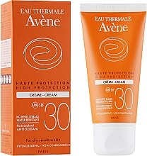 Profumi e cosmetici Crema solare - Avene Sun High Protection Cream SPF 30