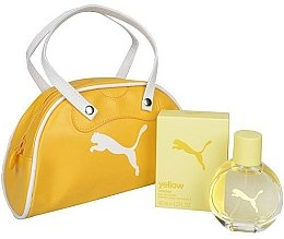 Profumi e cosmetici Puma Yellow Woman - Set (edt 40ml + bag)