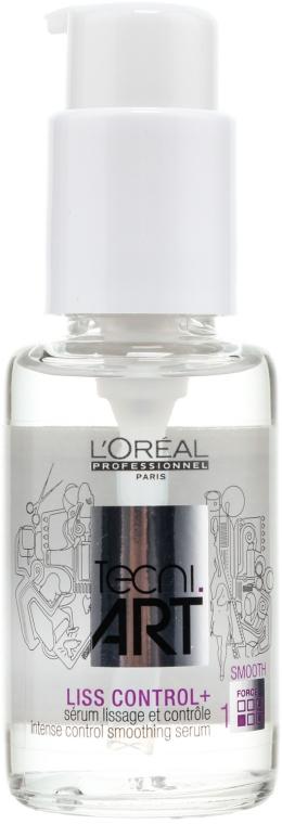 Siero levigante e disciplinante per capelli - L'Oreal Professionnel Tecni.art Liss Control Plus