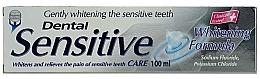 """Profumi e cosmetici Dentifricio """"Sbiancamento delicato"""" - Dental Sensitive Whitening Formula"""