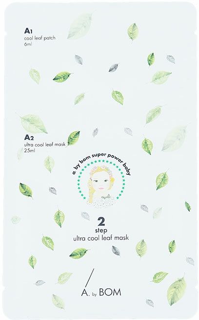 Maschera rinfrescante - A. by BOM Ultra Cool Leaf Mask — foto N1