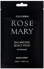 Profumi e cosmetici Maschera per il cuoio capelluto rivitalizzante al succo di rosmarino - Rated Green Cold Brew Rosemary Balancing Scalp Pack
