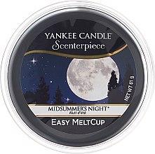 Profumi e cosmetici Cera aromatica - Yankee Candle Midsummer Night Scenterpiece Melt Cup