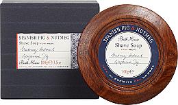 Profumi e cosmetici Bath House Spanish Fig and Nutmeg - Sapone da barba