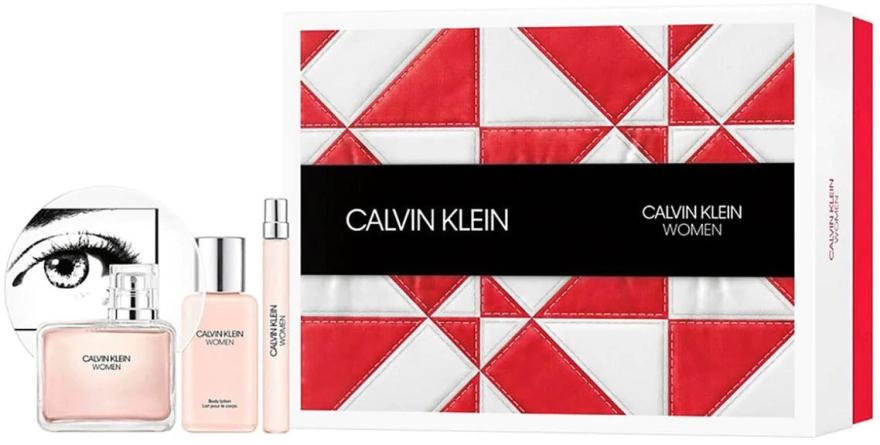 Calvin Klein Women - Set (edp/100ml + b/lot/100ml + edp/10ml)
