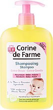 Profumi e cosmetici Shampoo delicato con fiori di mandorla per bambini e neonati - Corine de Farme Baby