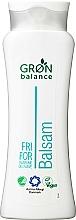 Profumi e cosmetici Balsamo per capelli inodore - Gron Balance