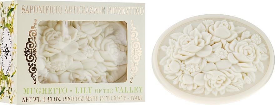 """Sapone naturale """"Mughetto"""" - Saponificio Artigianale Fiorentino Botticelli Lily Of The Valley Soap"""