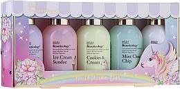 Profumi e cosmetici Set - Baylis & Harding Beauticology Milkshake Bar (b/lot/100ml + show/gel/2x100ml + h/cr/100ml + show/cr/100ml)