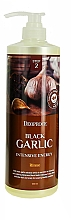 Profumi e cosmetici Maschera per capelli con estratto di aglio nero - Deoproce Black Garlic Intensive Energy Hair Pack