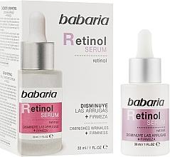 Profumi e cosmetici Siero viso - Babaria Retinol Serum