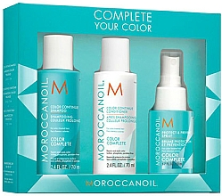 Profumi e cosmetici Set - Moroccanoil Travel Kit Color Complete (shm/70ml + cond/70ml + spray/50ml)