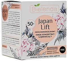 Profumi e cosmetici Crema viso rassodante, da notte 50+ - Bielenda Japan Lift Night Cream 50+