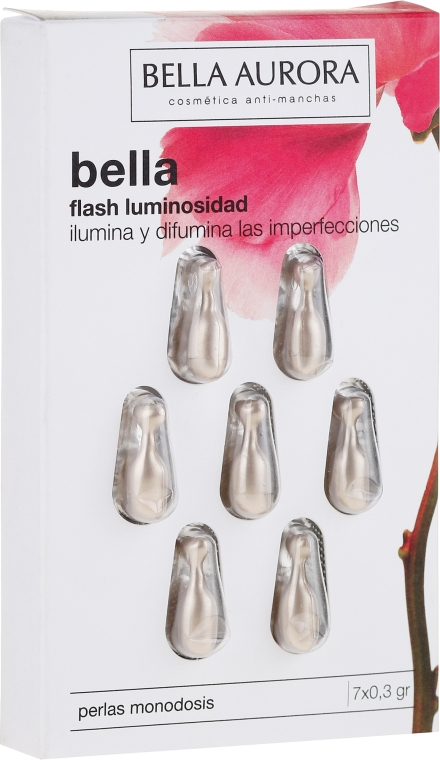 Capsule viso - Bella Aurora Flash Luminosity Facial Treatment