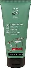 Profumi e cosmetici Gel doccia con estratto di mela ed estratto di canapa - GRN Essential Elements Apple&Hemp Shower Gel