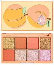 Profumi e cosmetici Palette ombretti - I Heart Revolution Mini Tasty Peach Eyeshadow Palette