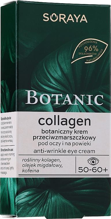 Crema contorno occhi antirughe - Soraya Botanic Collagen Anti-Wrinkle Eye Cream — foto N1