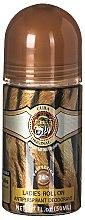 Profumi e cosmetici Cuba Jungle Tiger - Deodorante roll-on