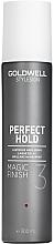 Profumi e cosmetici Spray brillante per capelli - Goldwell Style Sign Perfect Hold Magic Finish Lustrous Hairspray