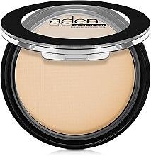 Profumi e cosmetici Cipria compatta opacizzante - Aden Cosmetics Silky Matt Compact Powder