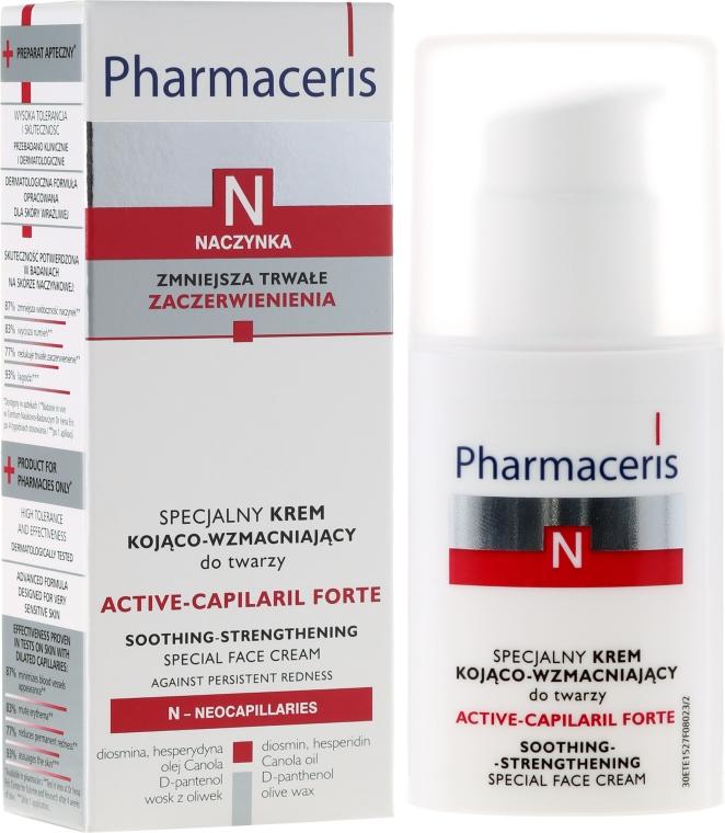 Crema viso lenitiva e rassodante - Pharmaceris N Active-Capilaril Forte Cream